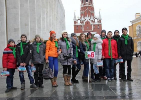 Посещение праздника организованными группами