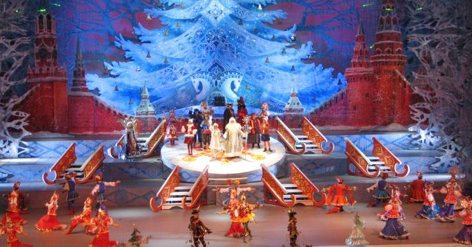 Театрализованная постановка Кремлевская елка