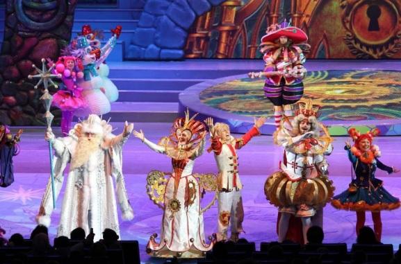 Сказочные персонажи театрализованной постановки